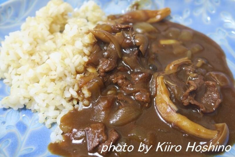お弁当、2016-11-28、ハヤシライス