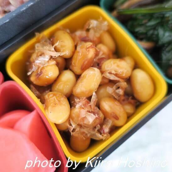大豆のおかか炒り煮