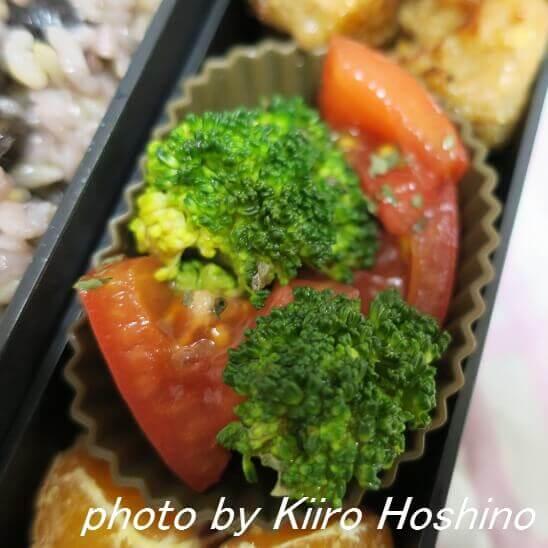 ブロッコリーとトマトサラダ