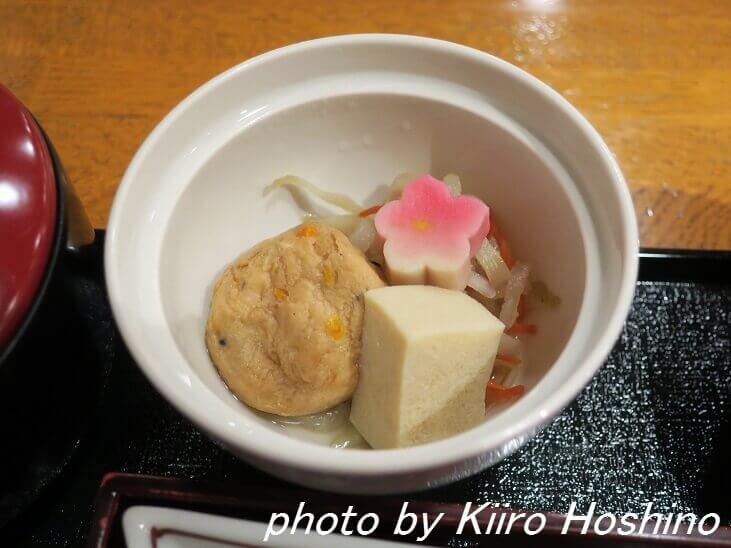 京都たん熊、京朝食・煮物