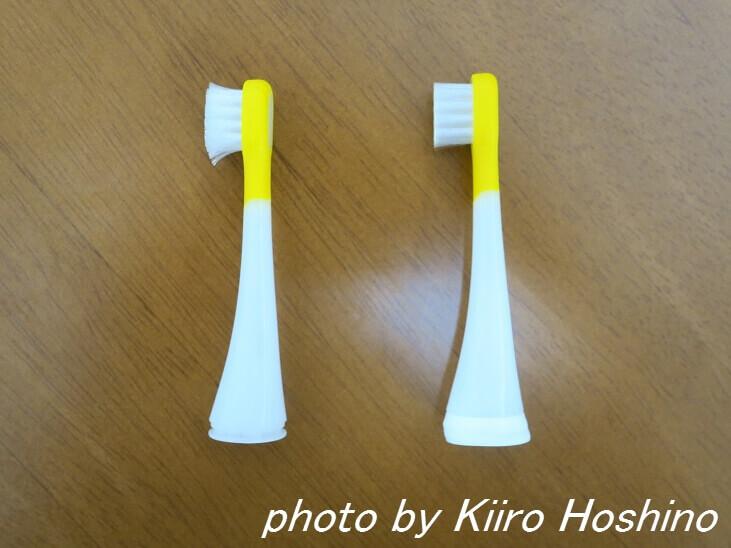 歯ブラシ、新旧